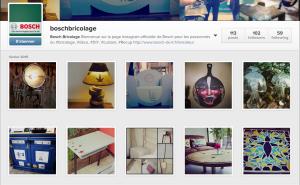 Profil Instagram - Bosch Bricolage