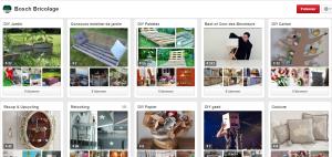 Profil Pinterest - Bosch Bricolage