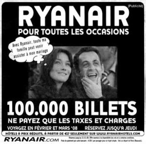 Ryanair ad